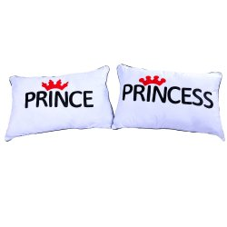 Prince/Princess Pillow (White)