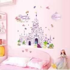 Princess Castle Girl Wall Decal Sticker Home Decor Vinyl Art Kids Nursery  Room   Intl