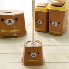 South Korea Product Rilakkuma Chamber Pot Brush Set Cartoon Bathroom Long Handle Wash Toilet Brush Set Toilet Brush By Taobao Collection.