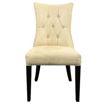 Queen Chair (White/Black Wenge Wood)