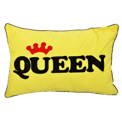 Queen Pillows (Apricot Yellow)