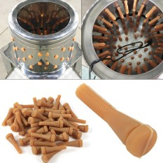 Quick Easy 50Pcs/Set Chicken Plucker Fingers Poultry Duck Quail Goose  Feather Plucking - intl