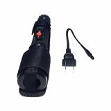 Keimav Rechargeable Powerful Flashlight 805 (Black) - thumbnail 1