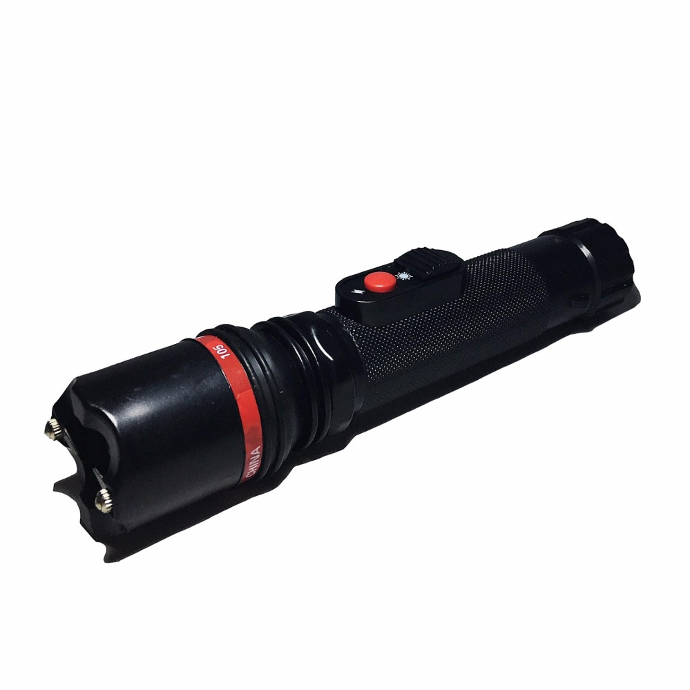 Keimav Rechargeable Powerful Flashlight 805 (Black) - thumbnail