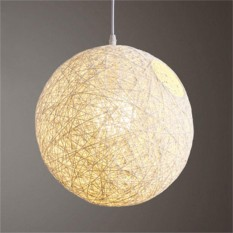 Lampshade for sale lampshades prices brands review in round concise hand woven rattan vine ball pendant lampshade light lamp shades light accessories aloadofball Image collections