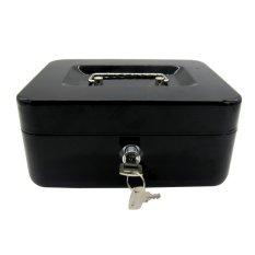 Living Room Furniture Kady Black Cash Box Jewelry Medium Security Money Safe Home Office Storage Tool
