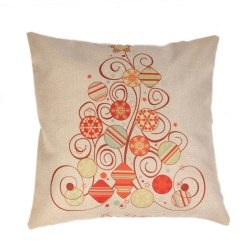 S & F Christmas candy tree pillow cover - Intl