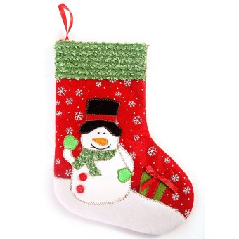 S & F Christmas stockings - Snowman- Intl