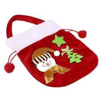 S & F New Year Christmas Candy Bag 2Pcs/lot Santa Bag Enfeite - Intl