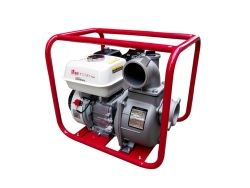 Sakae Fuji TP304 Engine Water Pump (Red/Grey)