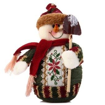 Santa Claus Design Indoor Christmas Standing Decoration Supplies Table Ornament - Intl