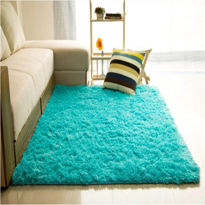 80120cm Green Daftar Source · Shaggy Anti skid Carpets Rugs Floor Mat Cover .