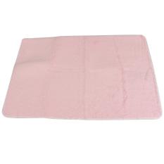 Shaggy Anti-skid Carpets Rugs Floor Mat/Cover 80x120cm Pink