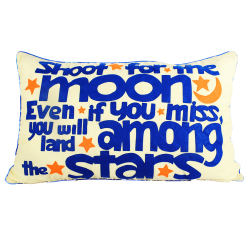 Shoot for the Moon Pillows