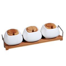 Slique 3pc Condiment Set By Sunbeams Impex Inc..