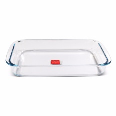 Slique Rectangle Glass Baking Dish 2.2l By Sunbeams Impex Inc..