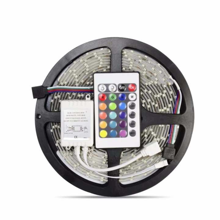 smd 3528 waterproof led strip lights 12v multicolor lazada ph. Black Bedroom Furniture Sets. Home Design Ideas
