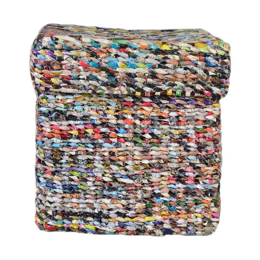 Smokey Fashion Square Box with Cover (Multicolor) - thumbnail