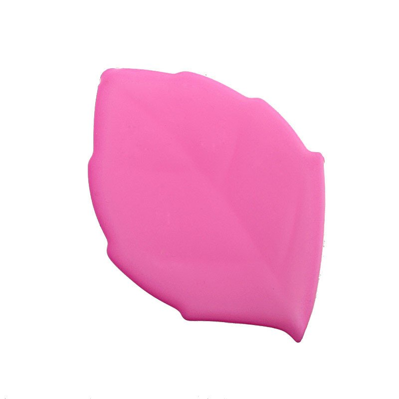 Soft Silicone Leaf Shape Water Drink Pocket Cup (Pink) product preview, discount at cheapest price