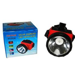 Solar Rechargeable Led Head Lamp HT-323LSH (Red)