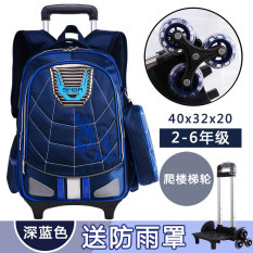 51928c5cd9 2017 Spiderman Young Student s boy men 6-12-Year-Old Trolley bag bags