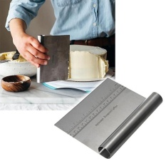 Stainless Steel Pizza Dough Scraper Cutter Baking Pastry Spatulas Fondant Cake Decoration Tools Kitchen Accessories 15