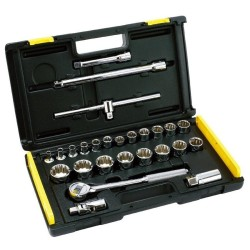 Stanley 1/2 Drive 27-piece Socket Wrench Set 86-477 (Silver)