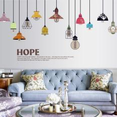 Yiliangzhijia Multicolor Ceiling Lights Wall Sticker