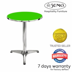Sumo AT-60R GRN Top Aluminum Round Pantry Table (Green)