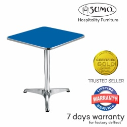 Sumo AT-60S BLU Top Aluminum Square Pantry Table (Blue)