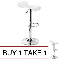 Sumo BC-38CLR Bar Stool (Clear) Buy 1 Take 1