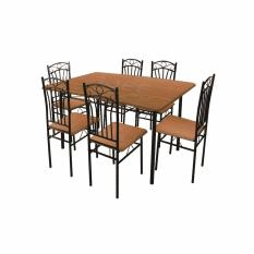 Philippines. Tailee DS-022 6-Seater Dining Set (Cherry) b9c763d4ea