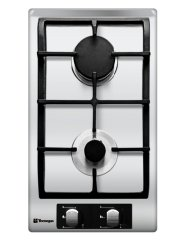 Tecnogas TBH3020CSS Two Burner Built-In Cooktops