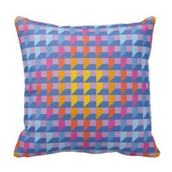 Tetris One Side Printing Pillow Case Cover(Multicolor)