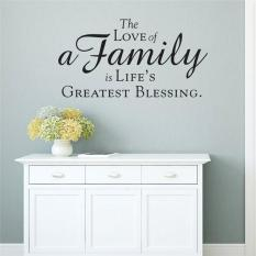 The Love Of A Family Is Lifeu0027s Createst Blessing Quotes Home Decor Living Room  Decals Bedroom