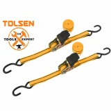 TOLSEN 2pcs Industrial Rachet Tie Down Set (25mm X 5m) image