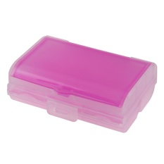 TrAvel TAblet Pill Medicine StorAge Box DuAl LAyer 6 CompArtments Dispenser CAse Boxes ( Pink )