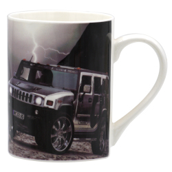 Trendy Car Mug Coffee Mug (Multicolor)