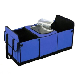 Trunk Genie Folding Handy Car Bag Organizer (Blue)