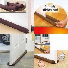90CM Twin Draft Guard Door Window Air Dust Stopper Energy-saving Door Stopper - intl & Doorstop for sale - Rubber Stopper prices brands u0026 review in ...