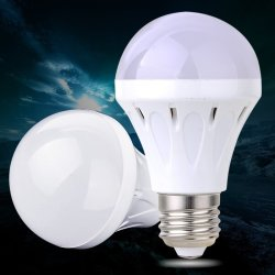UJS AC 85-265V 7W/27LED Energy Efficient Led Lamp Bulb Super Bright (White) (Intl)