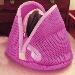 UJS Women Bra Laundry Lingerie Washing Hosiery Saver Protect Mesh Small Bag (Pink) (Intl)