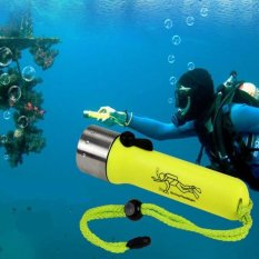 PHP 205. Underwater 1200LM CREE XM-L XPE LED Diving Flashlight Torch Lamp Light Waterproof - intlPHP205