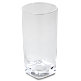 Union Glass Tumbler 11oz Set of 12 (Clear) with FREE Thermal Bag - thumbnail 1