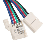 Velishy Connector with Cable For Strip Light two 10mm - thumbnail 1