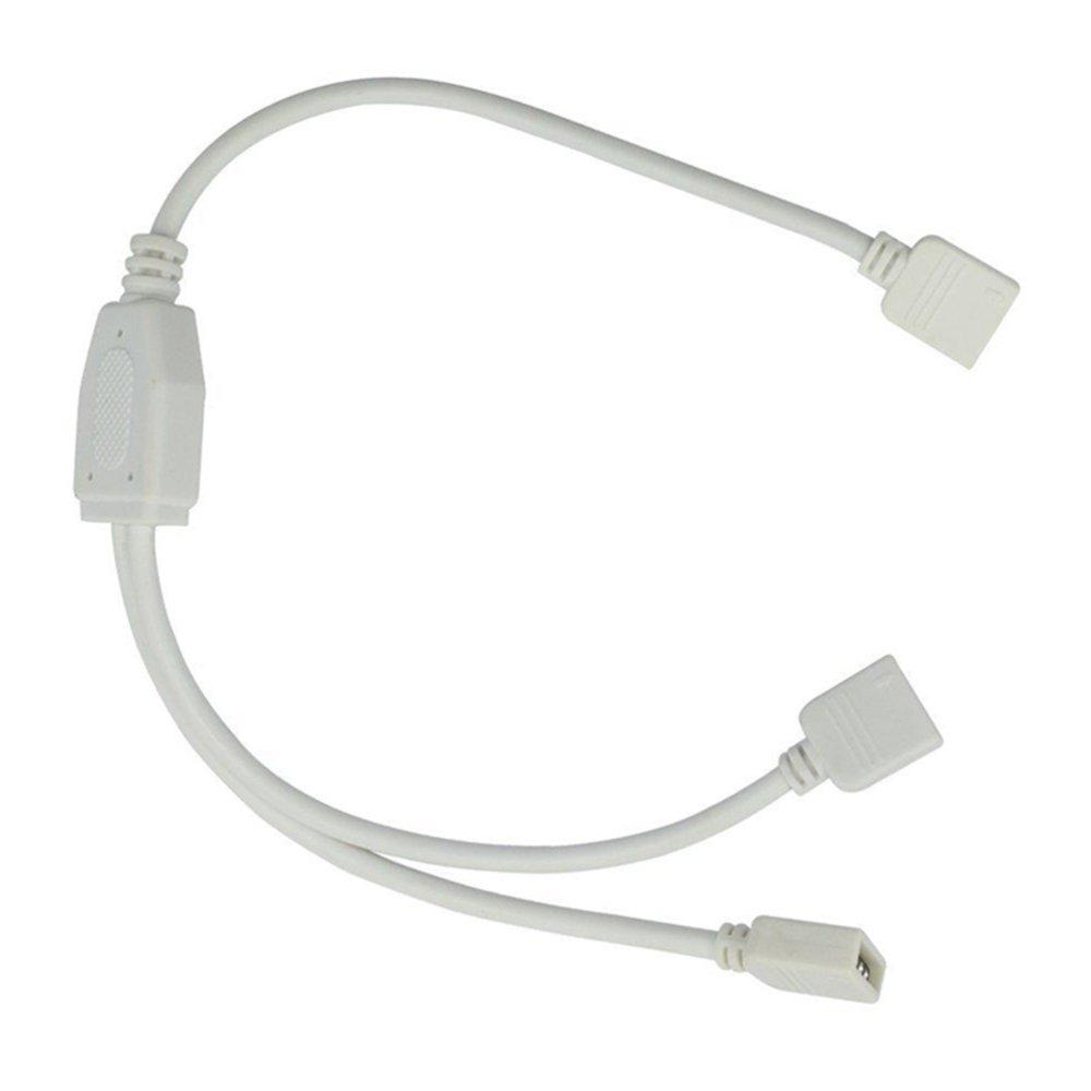 Velishy Female LED Splitter Connector Cable for LED Strip - thumbnail