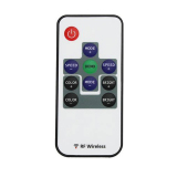 Velishy Wireless Remote Controller for Led Strip Light 10 Key - thumbnail 1
