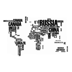 Wall stickers for sale wall decals prices brands review in vrtech home art decoration english letters world map wall stickersblack intl gumiabroncs Image collections