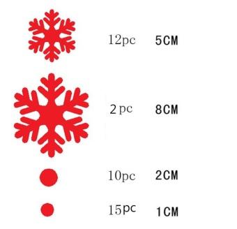 Wall Window Stickers Angel Snowflake Christmas Xmas Vinyl Art Decoration Decals - intl