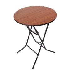 Weext ROUND FOLDING TABLE 60x60x75 ESPRESSO